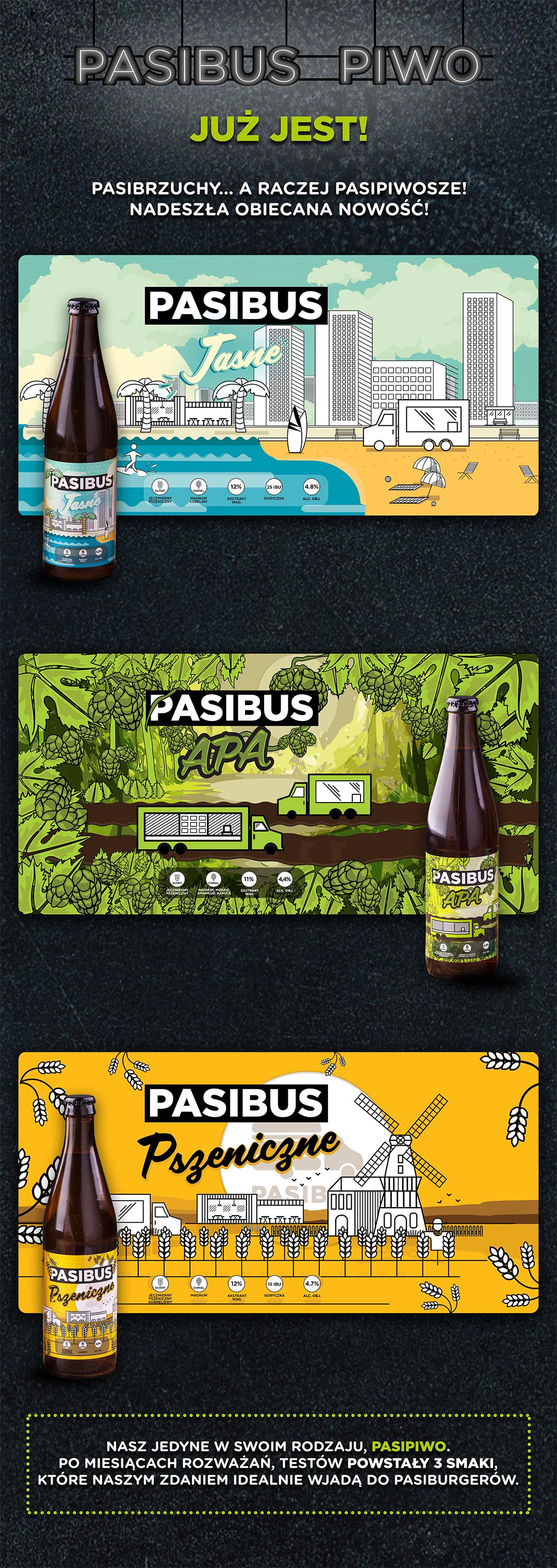 Nowość w Pasibus - piwo Pasibus już dostępne