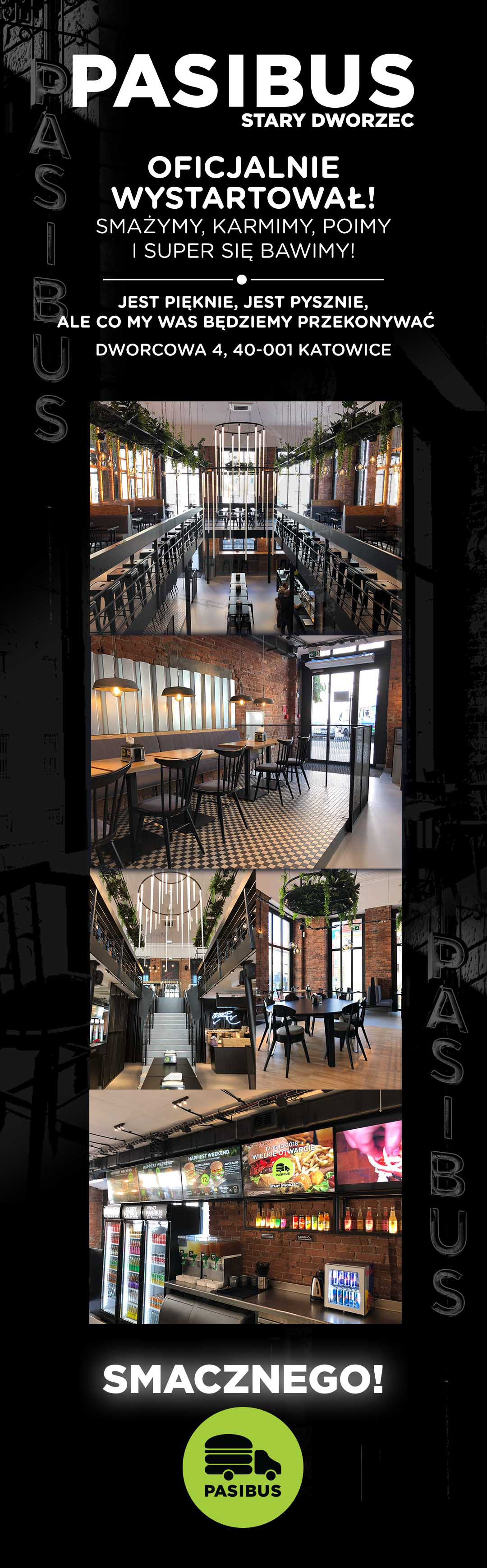 Otwarcie nowej restauracji na Starym Dworcu w Katowicach