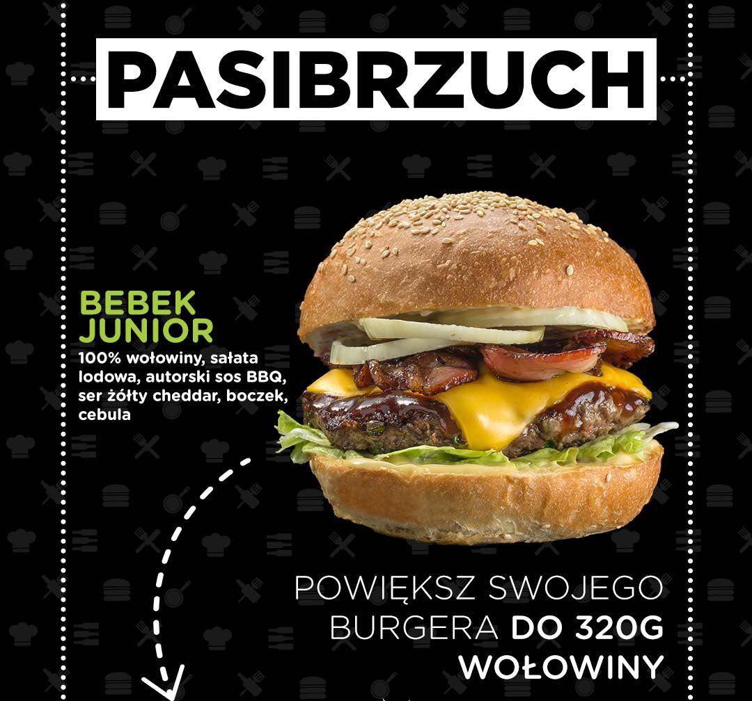 Pasibus - Bebek Junior - powiększ o dodatkową wołowinę