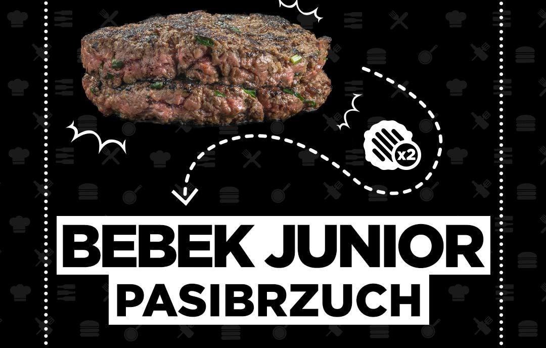 Bebek Junior Pasibrzuch - wołowina
